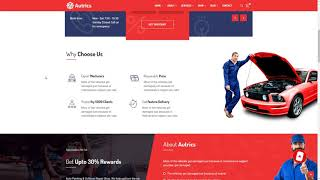 Autrics Car Services and Auto Mechanic WordPress Theme      Tylor Tri
