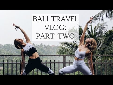BALI VLOG PART 2: Bali Spirit Festival, Food & Therapy | CAT MEFFAN