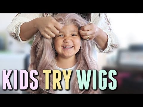 My Kids Try My Wigs - itsjudyslife thumbnail