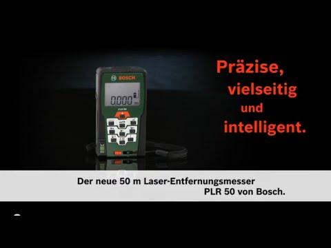 Bosch stellt vor: digitaler laser entfernungsmesser plr 50 youtube