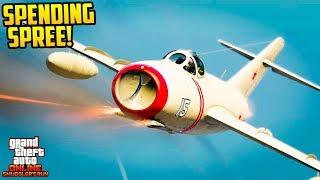 GTA Online Smuggler's Run DLC - MASSIVE $100,000,000 SPENDING SPREE! ALL NEW AIRCRAFT & CARS!