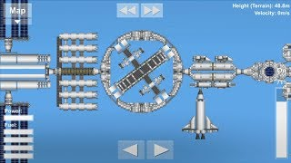 Spaceflight Simulator Rotating Station Blueprints and Tutorial