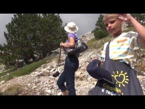 Греция: Восхождение на гору Олимп. Olympus mountain.