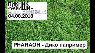 Пикник Афиши 2018 - PHARAOH - Дико например