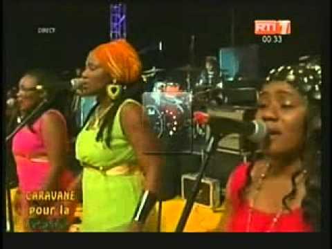 Cote D'ivoire : concert de la paix et de la réconciliation. (Magic System,Tiken Jah Fakoly)