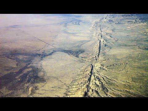San Andreas Fault Through Carrizo Plain