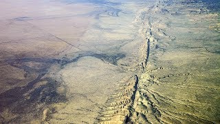 San Andreas Fault Through Carrizo Plain