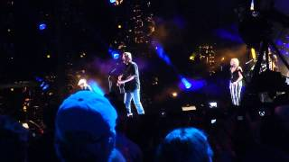 blake shelton mine would be you new song live cma fest
