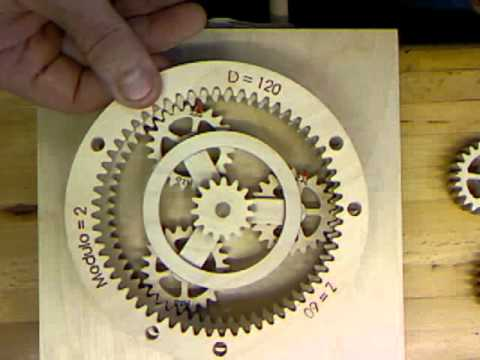 Wood Planetary Gear Wmv Youtube