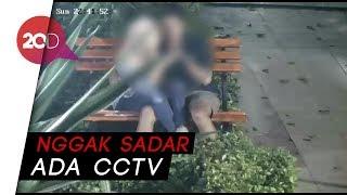 Asyik Bercumbu, Sampai Nggak Sadar Terekam CCTV