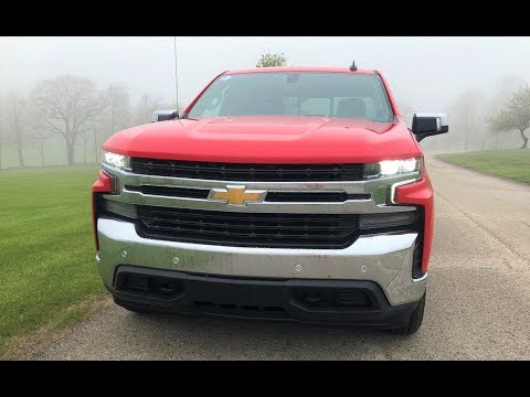 2019 Chevrolet Silverado LT 2.7l Turbo 4x4 - First Drive Review