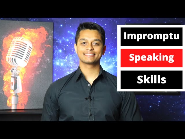 Build Impromptu Speaking Skills with the String and Pearls Method!