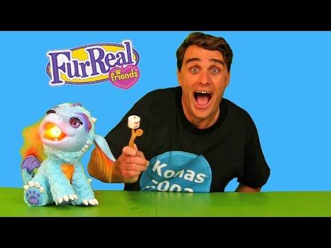 Roasting Marshmallows With Torch My Blazing Dragon! || Toy Review || Konas2002