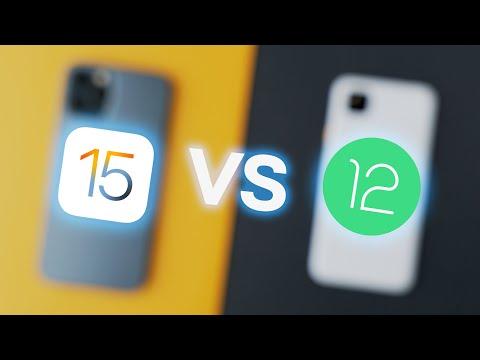 iOS 15 Beta vs Android 12 Beta 2 - Android Authority