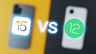 iOS 15 Beta vs Android 12 Beta 2