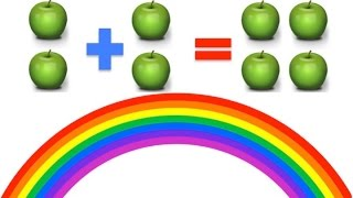 Learn to Add, Basic Maths for Young Kids (Plus 2) | Rainbow Learning