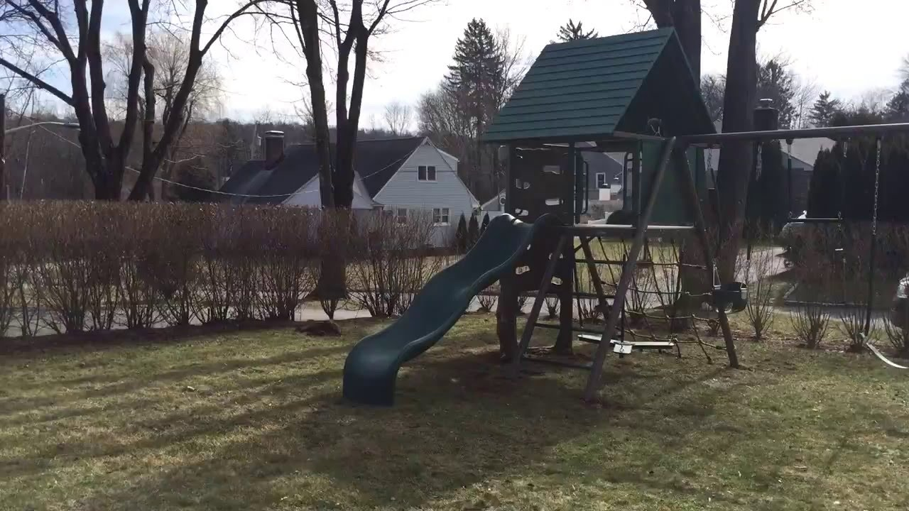 lifetime the a deluxe p swing set home frame depot sets
