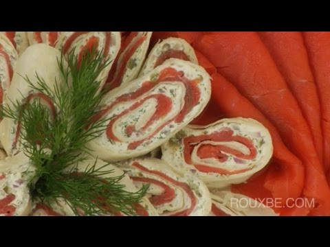 How To Make A Smoked Salmon Platter