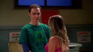 Repeat youtube video The Big Bang Theory - Penny Hitting On Sheldon