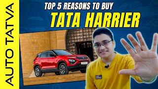 Top 5 Reasons To Buy Tata Harrier   Hindi   Auto Tatva
