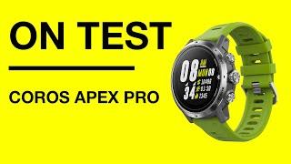 Coros Apex Pro review: The running verdict