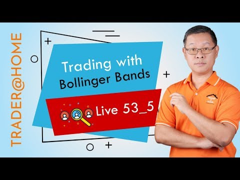 Forex สอน เทรด : 302 - Trading with Bollinger Bands (Live53_5, 2019)