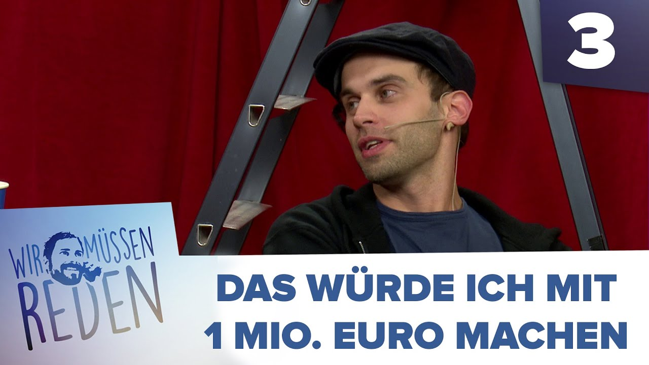 3 3 wir m ssen reden mit fabian das w rde ich mit 1 mio euro machen youtube. Black Bedroom Furniture Sets. Home Design Ideas