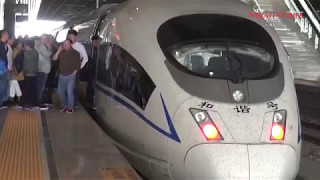 China touts railway tech for HSR project