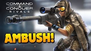 Command and Conquer: Rivals - AMBUSH YOUR OPPONENTS!