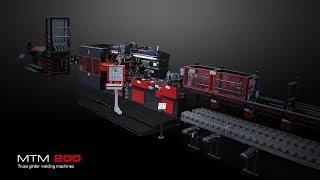 Mep Group Mtm 200 Lattice Girder Welding Line - Truss Girder