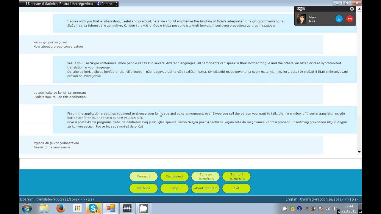 Prevodilac Za Skype Translator For Skype
