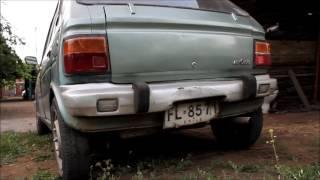 1980 Daihatsu Max Cuore  startup after 10 days