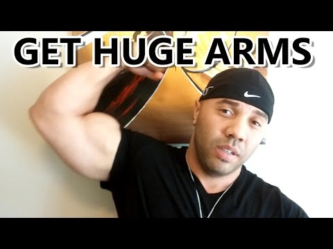 BUILDING HUGE ARMS WITH HIGH REPS / BODYBUILDING & FITNESS HOW TO