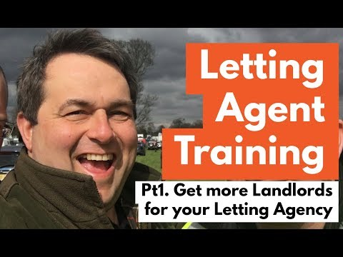 LETTING AGENT TRAINING VIDEO Pt.1 - Get More Landlords for your Agency Workshop - July 2015