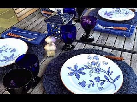 Setting the table for family and friends with Alex Papachristidis
