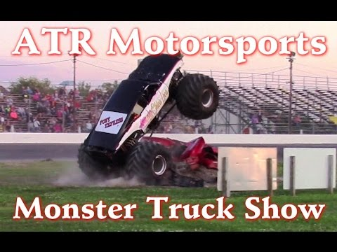 MONSTER TRUCK SHOW IN CLIO MICHIGAN JULY 2015