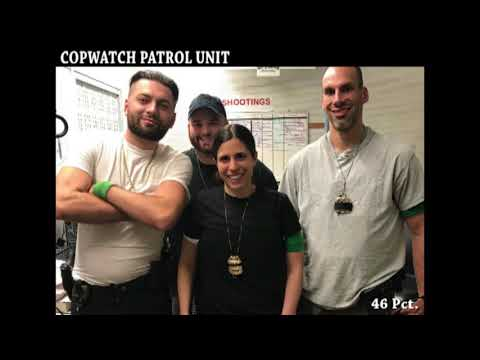 46 Pct. - NYPD PO Gets Pinned By Her Own UnMark Unit (Vehicle)