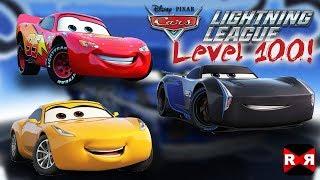 Mcqueen, Storm, Ramirez On Cars Lightning League Level 100   Fully Upgraded