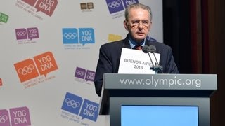 Buenos Aires is elected to host the 2018 Summer Youth Olympic Games