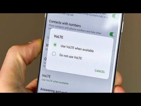 how to enable volte on samsung