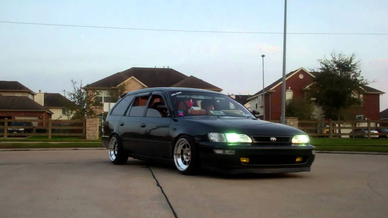 Kevin Dangs Hella Fitted 96 Corolla Wagon Youtube