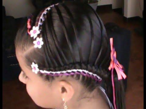 Peinados para ni as paso a paso tejido canadiense - Peinados bonitos para ninas ...