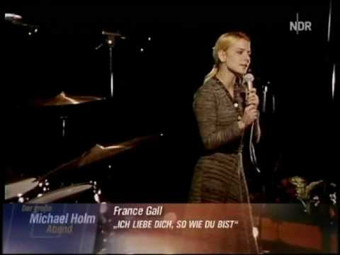 песня ich liebe dich. France Gall - Ich liebe dich, so wie du bist / 1969 скачать песню трек