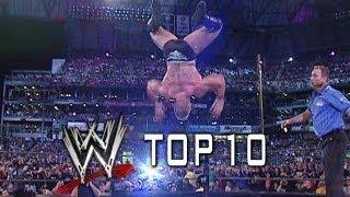 WWE Top 10 - OMG! WrestleMania Moments thumbnail