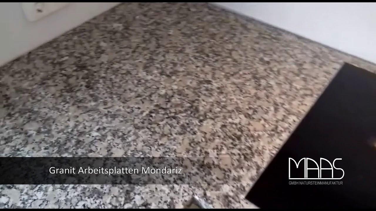 Bonn Mondariz Granit Arbeitsplatten Youtube
