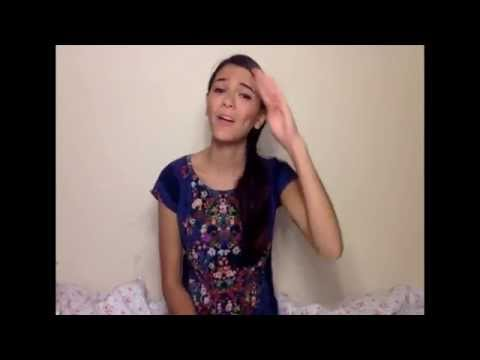 Thinking Out Loud Vocal and ASL Cover
