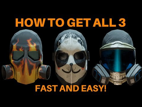 The Division - Fastest Way To Get All 3 Blackout Masks!