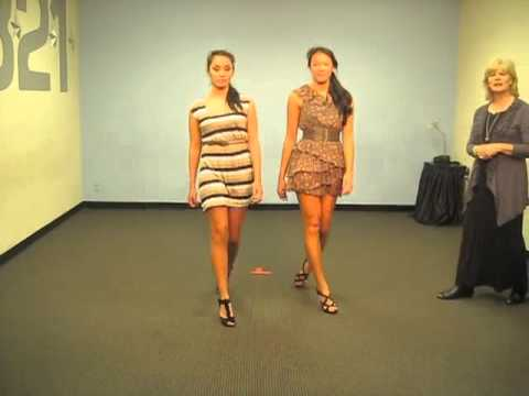 How To Walk Down The Runway