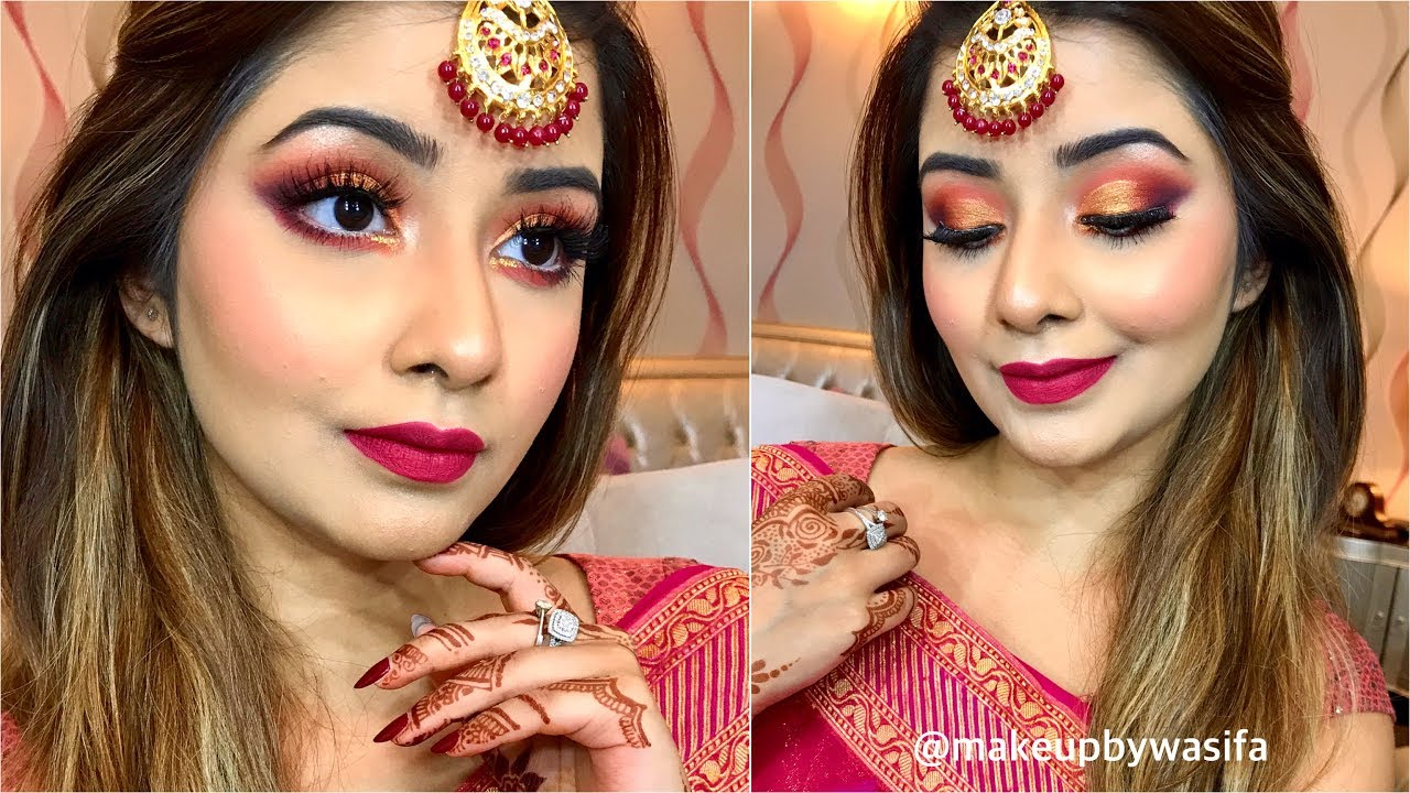 Makeup Look For Wedding Guests Bangladesh India Youtube
