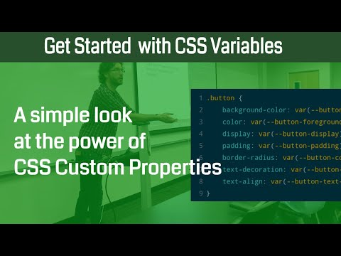 Creating Your First CSS Custom Properties